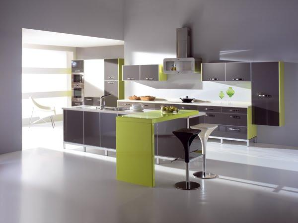 Hogar moda de las cocinas modernas for Modelos de cocinas integrales modernas